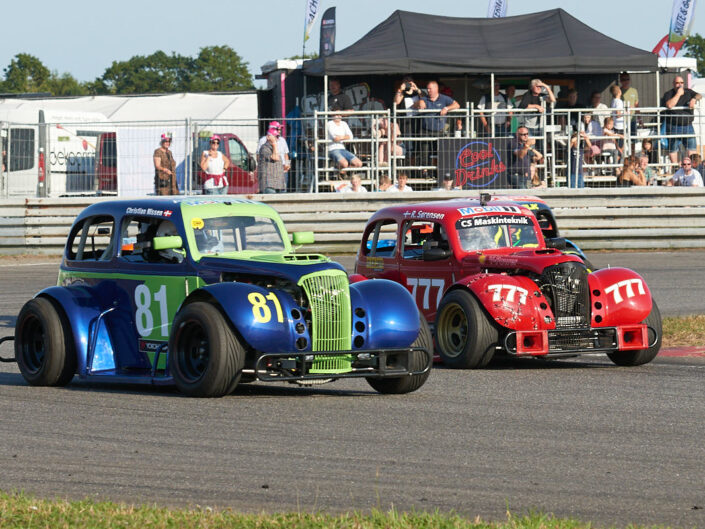 Legend Car Night Race på Padborg Park 2019